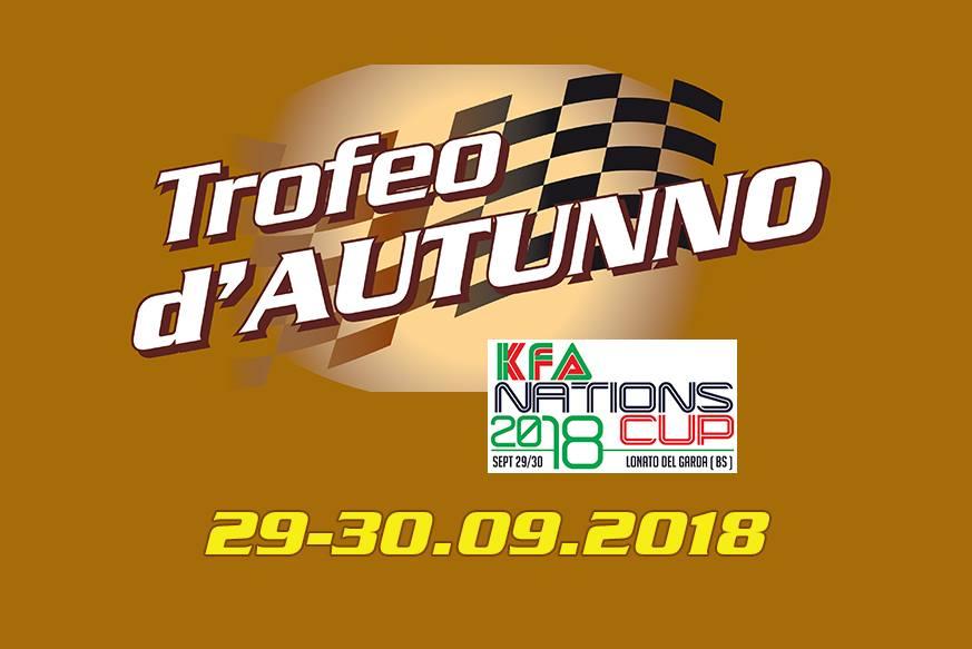 TROFEO D'AUTUNNO 1^ PROVA 30 09 2018