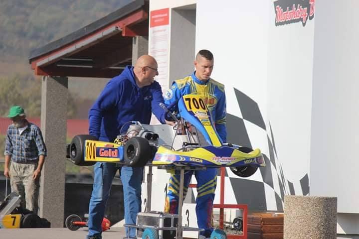 Slovenský kartingový pohár Dlhá 13.10.2018